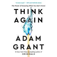 英文原版 重新思考 Give and Take作者 Adam Grant 平装 Think Again 励志 心理学 T