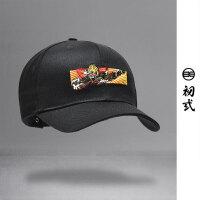 初�q中国风复古潮牌刺绣悟空图弯沿棒球帽男女情侣鸭舌帽子46080
