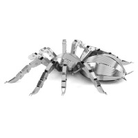全金属 不锈钢DIY 拼装模型 昆虫系列 3D纳米立体拼图 蜘蛛 蜻蜓 锹形甲虫