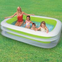 INTEX小型家庭水池56483 充气水池