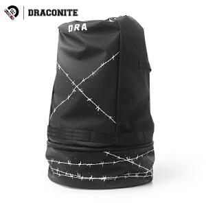【支持礼品卡支付】DRACONITE潮牌链条反光水桶包男女大容量手提旅行休闲双肩背包
