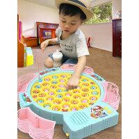 儿童池套装宝宝钓鱼玩具1-3岁男孩磁性益智2周4女孩6小孩智力开发