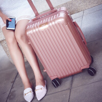 杆箱万向轮旅行箱男20寸24寸密码箱学生韩版时尚手箱女行李箱