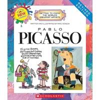 【中商原版】学乐我需要知道的伟大艺术家系列 毕加索 英文原版 Pablo Picasso 西方现代派