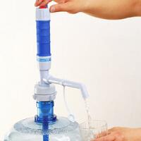 加长到桶底电动饮水器电动泵压水机饮水机抽水压水泵电池式大桶吸简易饮水机桶电动支架