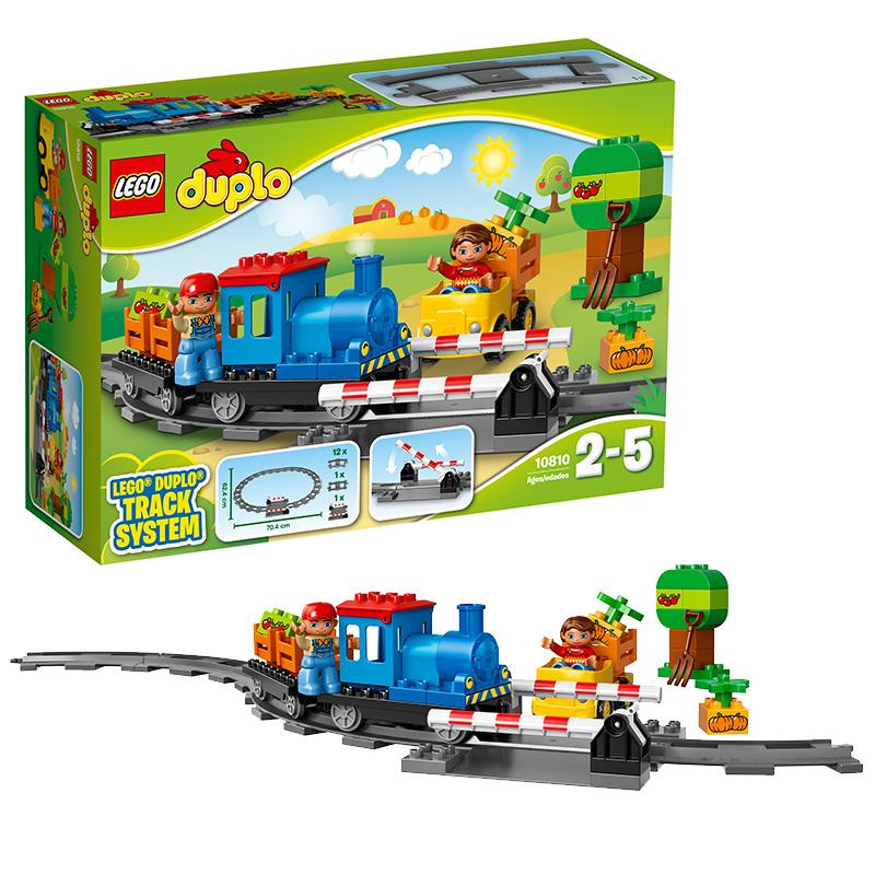 [当当自营]LEGO 乐高 DUPLO得宝系列 小火车套装 积木拼插儿童益智玩具10810【当当自营】适合2-5岁,45pcs小颗粒积木