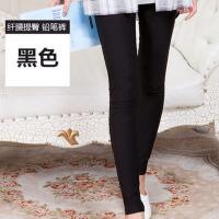 2017秋季新款紧身女士打底裤 大码小脚铅笔裤子九分外穿韩版yby-A033
