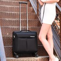 新款16寸商务电脑小拉杆箱旅行箱空姐登机箱行李箱子出差 16寸登机箱