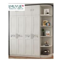 家具简约现代家具板式衣柜组合二两门三门四门衣柜整体大衣橱