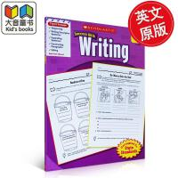 英文原版 Scholastic Success with Writing, Grade 3 学乐必赢 8岁以上小孩学习