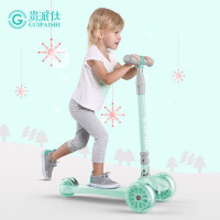 儿童滑板车1-2-3-6岁初学者 儿童溜溜车宝宝滑滑车四轮女孩男孩