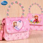 迪士尼女童宝宝斜挎包公主时尚包包小女孩迷你小挎包儿童包包可爱
