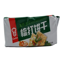 嘉顿(Garden) 梳打饼干 230g 袋装 两种口味任选
