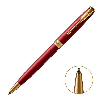 PARKER 2015款派克卓尔宝石红金夹原子笔当当自营轻奢配件 精致生活之选 闪电发货
