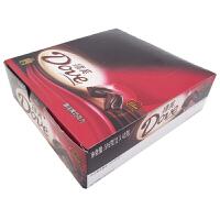 【包邮】德芙(Dove) 香浓黑巧克力 盒装 516g (12条*43g) 办公室休闲零食