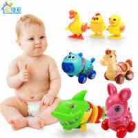 发条玩具婴儿幼儿童益智宝宝上链上弦会跑会动的小鸡章鱼青蛙