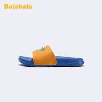 巴拉巴拉官方童鞋儿童拖鞋男童凉拖章鱼防水萌趣2020新款夏季