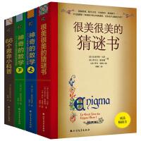 数学谜题与户外生存系列(升级版4本):很美很美的猜谜书+神奇的数学(上下)+66个救命小科普:户外险境求生