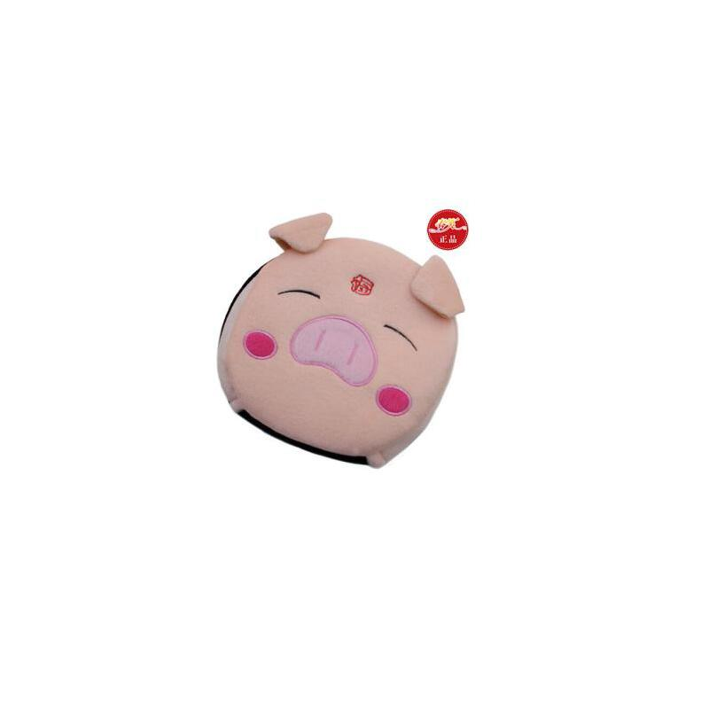 春笑 USB暖手鼠标垫/发热鼠标垫 加热 USB暖手宝 带护腕(福猪