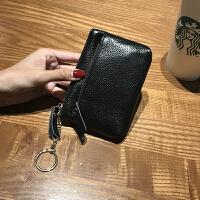 简约零钱包女式韩版小钱包女士短款迷你钥匙多功能可爱硬币包