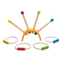 Hape儿童套圈3-6岁宝宝益智智力户外投掷游戏套运动户外玩具E4301