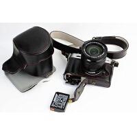 适合富士xt20相机包 xt10相机保护皮套 底座开孔可换电池世帆家SN5011