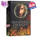 乌有王子第三部:千重思想 英文原版 英文小说 科幻小说 The Thousandfold Thought: Book