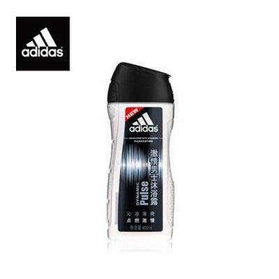 Adidas/阿迪达斯 男士沐浴露激情沐浴乳液400ml 夏季护肤 防晒补水保湿 可支持礼品卡