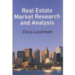 【预订】Real Estate Market Research and Analysis 9780333980866