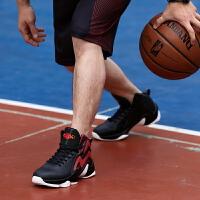 男鞋篮球鞋春季季时尚新款实战球鞋男运动鞋战靴高帮鞋男减震耐磨
