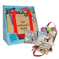 【中商原版】我妈妈的皮包立体书 操作书 英文原版绘本 My Mommy's Tote 玩具书 纸板翻翻书 妈妈的手提包
