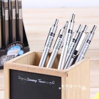 得力文具金属质感0.5mm活动铅笔 学生铅笔绘图铅笔自动铅笔0.7mm