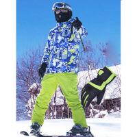 2018新款冬季保暖单板双板冲锋衣男滑雪衣男士滑雪服套装