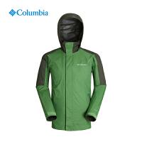 Columbia哥伦比亚户外秋冬男款防水透气冲锋衣PM5818