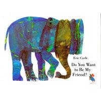 Eric Carle: Do You Want to Be My Friend? mini 你想和我做朋友吗?(精装)