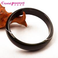 水晶密码CrystalPassWord 天然黑玛瑙手镯-JXYL1Q037