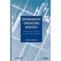 【预订】Deterministic Operations Research: Models and Methods in