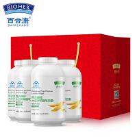 百合康 健康礼品装 大豆卵磷脂软胶囊辅助降脂1.2g*80粒*4瓶 礼盒礼袋
