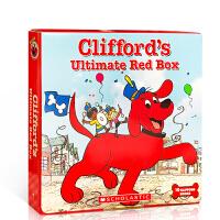 Clifford Ultimate Red Box(10 Books)大红狗最受欢迎的故事10本套装 ISBN9789