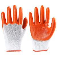 【24双装全胶手套】浸胶劳保手套耐磨防水防油工作防护软胶皮手套 多选择