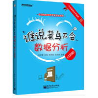 【新书店正版】谁说菜鸟不会数据分析(工具篇)张文霖 等电子工业出版社9787121204098