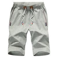 男士纯棉短裤 休闲裤男 7七分裤运动裤沙滩裤男大码