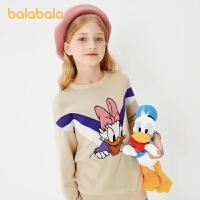 【�_�W季 折后�B券�A估�r:62.7】巴拉巴拉女童毛衣秋冬�和���衫女大童�棉
