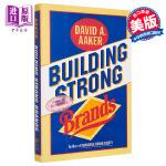 【中商原版】建立强大的品牌 英文原版 经济管理 Building Strong Brands Aaker Jossey