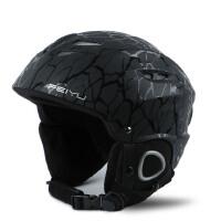 征伐 滑雪头盔 专业成人滑雪头盔男女款儿童单板双板滑雪护具单板装备可调节