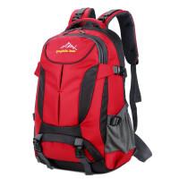 ?男士大容量双肩包登山旅行背包韩版潮女士电脑包旅游双肩背包?