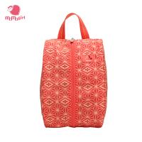 【1件3折】momogirl尼龙大容量鞋袋超轻耐脏旅行收纳包实用简约旅行袋M0179