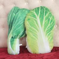 仿真水果蔬菜毛绒玩具抱枕娃娃茄子黄瓜白菜青菜搞怪3d可爱萌