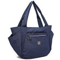 新款帆布包女单肩包牛津布尼龙女包通勤手提包托特包大包包妈咪包大包