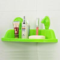 吸盘三角浴室置物架颜色可随机
